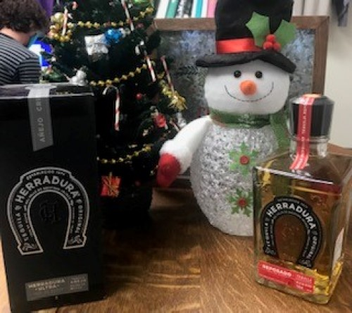 Herradura Resposado and Ultra Anejo Tequila - Tequila Lovers Dream Gift