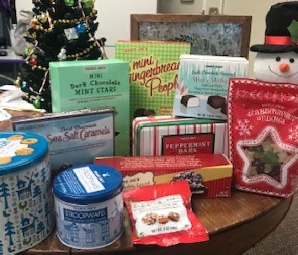 Trader Joe's Christmas party essentials!