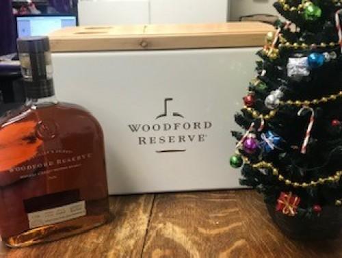 Woodford Reserve 1.75 liter bottle and Woodford outdoor Cooler!