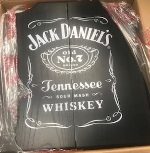 Jack Daniels Dart Board with 1.75 ML bottle of Gentleman Jack!